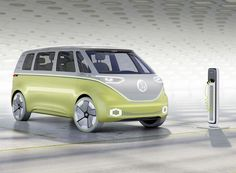 volkswagen ID BUZZ concept self driving electric campervan designboom