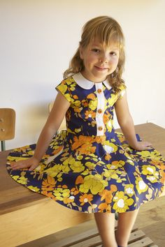 Compagnie M. ileana dress sewing pattern (launch august 2015)