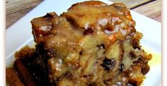 Best Slow Cooker Bread Pudding