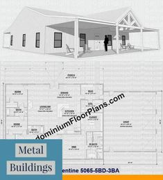 Metal Building Company Serving Maryland and Metal Buildings Frame. Metal Building Homes Cost, Metal Shop Building, Metal Barn Homes, Pole Barn Homes, Building A House, Industrial Home Design, Industrial House, Shop Buildings, Steel Buildings