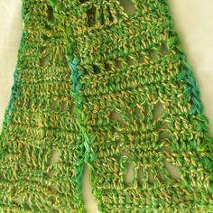 Handmade Crochet Scarf, Green Scarf, Yellow Neck Scarf, Boho, Warm,... ($36) ❤ liked on Polyvore featuring accessories, scarves, green scarves, crochet scarves, green shawl, bohemian scarves and bohemian shawl