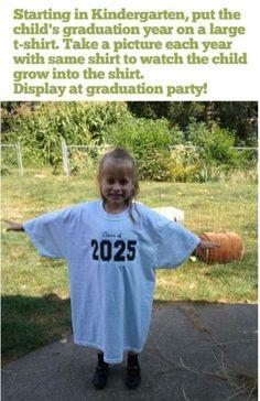 Child grad shirt