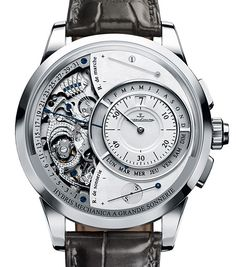 Million Dollar Watches: 7 Of The Most Expensive Watches Over $1 Million | The Jaeger-LeCoultre Hybris Mechanica à Grande Sonnerie has a retail price of $ 1,474,070. The watch boasts 1,300 parts which made it capable of playing the entire Big Ben chiming sequence. It was released in 2009 as part of the Hybris Mechanica 55 trilogy, a trio of watches that comprised 55 complications altogether. | WatchTime