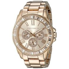 Bulova Women's Quartz Stainless Steel Casual Watch, Color:Rose Gold-Toned (Model: 44L171)