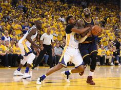 Leandro Barbosa fouling LeBron James in Game 1. Barbosa, a backup, had 11 points and made all five of his shots from the field. CreditKyle Terada/USA Today Sports, via Reuters