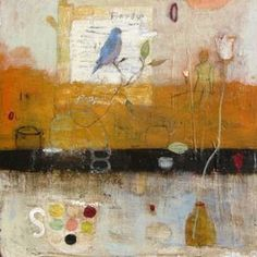 marti somers art | birds regard by marti somers
