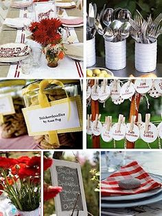 Country Chic Baby Shower... saw this and thought of YOU- @Megan Deason