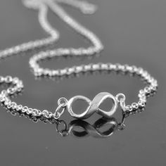 A personal favourite from my Etsy shop https://www.etsy.com/hk-en/listing/153462956/infinity-necklace-sterling-silver