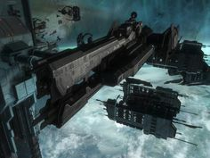 Halo Ships, Starship Concept, Space Fantasy, Concept Ships, Aircraft Design, Sci Fi Art, Warfare, Spaceship, Evolution