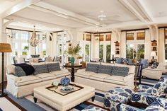 wonderful coastal feel - Dan Marino's home on Kiawah Island