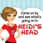 Heidi's Head @heidisays - The title says it all.  You'll get a little bit of everything here which means every visit is an adventure.