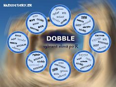DOBBLE - vybrané slová po R Dyslexia, Education, Educational Illustrations, Learning, Studying