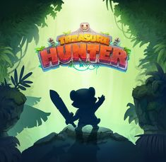 Treasure Hunter - Game Art on Behance Fantasy Magic, Hunter Games, 2d Game Art, Game Logo Design, Game Background, Game Concept Art, Game Character Design, Behance, Game Assets