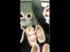 Finish felted slippers addi express knitting machine Part 3 Addi Knitting Machine, Circular Knitting Machine, Addi Express, Machine Parts, Knitted Slippers, Craft Work, Knit Crochet, Future Videos, 60 Degrees