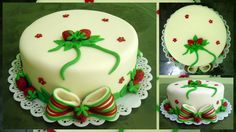Este bolo no tema Moranguinho foi feito para uma princesinha: A Sofya. A sugestão de decoração foi enviada pela mamãe dela. os moranguinhos foram feitos em pasta americana.