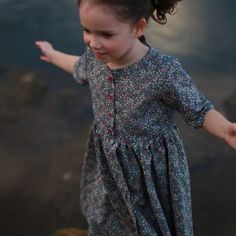 With this sewing pattern and tutorial you will be able to create a versatile Kauri Dress, with classic and clean style lines and a professional finish. Sewing Patterns Girls, Dress Patterns, Print Patterns, Baby Romper Pattern, New Party Dress, Digital Pattern, Different Styles, Dresses, Fashion