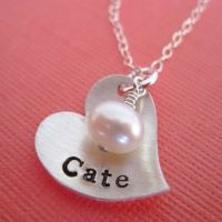 Love this necklace by Hannah Design