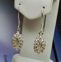 Vintage Ohrstecker - Silberohrringe mit kleinen Kristallsteinen SO121 - ein Designerstück von Atelier-Regina bei DaWanda