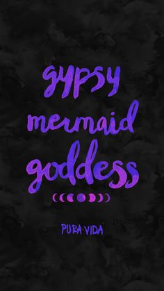Gypsy mermaid goddess by Pura Vida