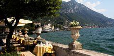 Italien Gargnano Hotel Bogliaco Terrasse