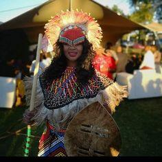 Jabu & Thabani's Gorgeous Zulu Wedding For 2019 South African Traditional Dresses, African Traditional Wedding Dress, Traditional Wedding Attire, Our Wedding Day, Wedding Blog, Wedding Things, Wedding Ideas, Zulu Wedding, African Love