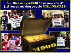 Giveaway 4900 Winners