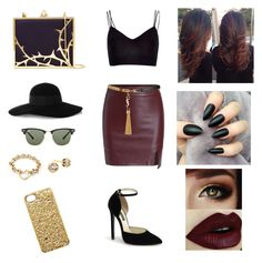 """""""Untitled #66"""" by ashjkl ❤ liked on Polyvore featuring River Island, Eugenia Kim, Ray-Ban, Tiffany & Co., Diane Von Furstenberg, Lulu Guinness, Yves Saint Laurent and Marc by Marc Jacobs"""