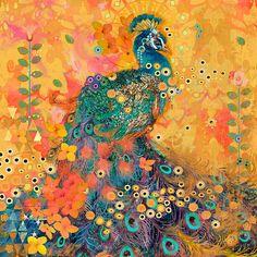 allthingspeacock - Peacock Canvas Print $113.99