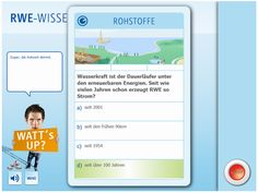 RWE erweitert Bewerberakademie auf der Karriere-Website für Studierende um ein Energie-Wissensquiz