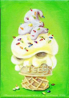 Devious Dessert -  Rainbow Sprinkles by Boogervampire13.deviantart.com on @DeviantArt