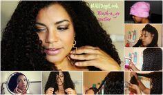 Beauty tips for the perfect wash and go / Rizos digno de una cita.