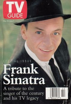 FRANK SINATRA - Vintage American TV GUIDE Special Tribute Issue May 1996