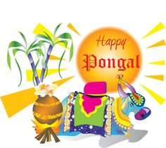 """Pongal is known as the """"harvest festival"""" of South India particularly in the state of Tamil Nadu. It is a four-day-long festival. Pongal Date 2020 Pongal Images, Diwali Images, Happy Pongal Wishes, Happy Diwali, Greetings Images, Wishes Images, Pongal Celebration, Makar Sankranti, Custom Web Design"""