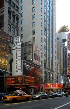 # MANHATTAN # Broadway. New York City, USA.