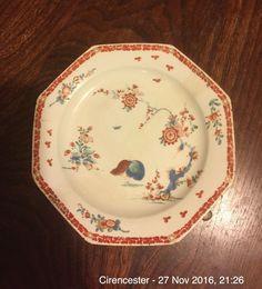 Antique 18th Century Bow Quail Kakiemon Pattern c1760  | eBay  plate is heavily restored. £67