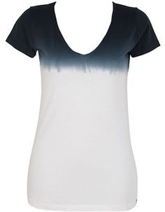 T-shirt Luci Dip Dye Off White