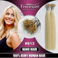 Forever remy human hair extensions suppliers new style russian nano hair extensions