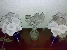 Handmade Lilies and Roses