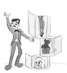 magician assistant art - Google Search