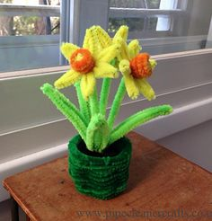 Pipe Cleaner flower crafts gallery III