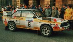 Michele Mouton RAC Rally 1984 Buxton | Flickr - Photo Sharing!
