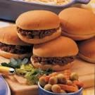 These are the best barbecued meat sandwiches ever—the combination of beef, pork and spices can't be beat. The recipe makes a lot, but don't expect leftovers! Beef Barbecue, Barbecue Recipes, Meat Sandwich, Sandwich Recipes, Beef Chuck Roast, Pork Roast, Slow Cooker Recipes, Crockpot Recipes, Smoking Recipes