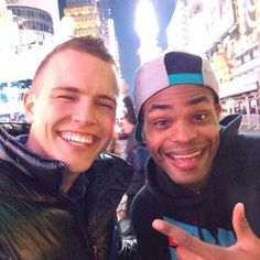 Jerome Jarre and King Bach