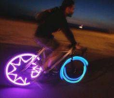 M232 Monkey Lights by mrb_donedidit on instagram Bicycle Lights, Road Bike, Night Life, Monkey, Fun Stuff, Cycling, Bicycles, Bicycling, Biking