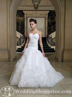 dvid+tutera+wedding+gowns | Bridal Gowns David Tutera for Mon Cheri Hermosa Bridal Gown Image 1