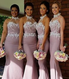 Bridesmaids love the dress