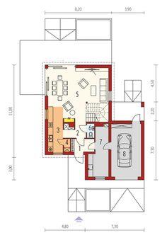 Case in Legno Planer, Bungalow, Gazebo, Floor Plans, House Styles, Modern, Kpop, A Class, Home Plans