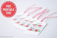 free printable christmas popcorn tags