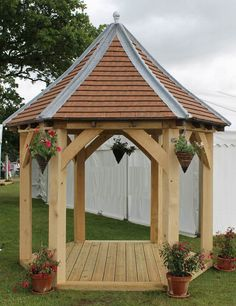 green oak garden gazebo pictures - Google Search