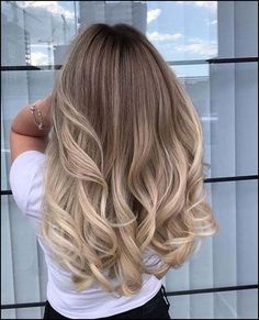 Amazing Blond Balayage Hair Colors For Long Hair In 2019 - Page 6 of 16 - Dazhim. - Amazing Blond Balayage Hair Colors For Long Hair In 2019 - Page 6 of 16 - Dazhim. Blonde Layered Hair, Blonde Layers, Brown Blonde Hair, Blonde Highlights, Wedding Hair Blonde, Ombré Hair, Wavy Hair, Short Curled Hair, Dyed Hair